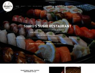 shiros.com screenshot
