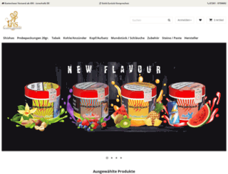 shisha-bedarf.com screenshot