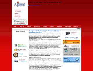 shivaims.edu.in screenshot