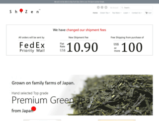 shizentea.com screenshot