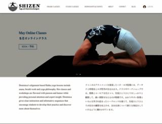 shizenyoga.com screenshot