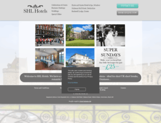 shlhotels.com screenshot