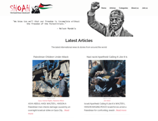shoah.org.uk screenshot