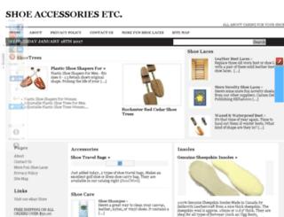 shoeaccessoriesetc.com screenshot