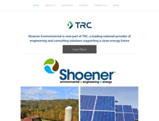 shoener.com screenshot