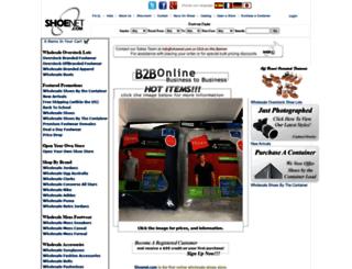 shoenet.com screenshot