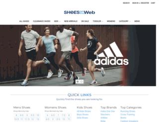 shoesontheweb.com screenshot