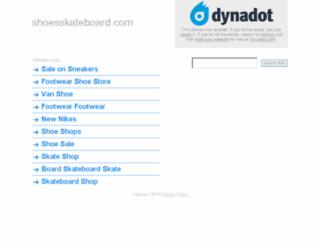 shoesskateboard.com screenshot