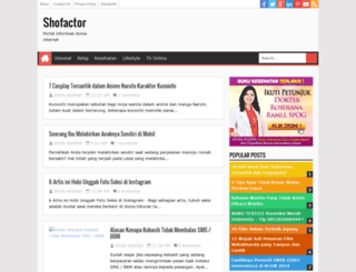 shofactor.blogspot.com screenshot
