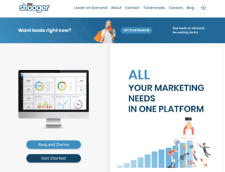 shooger.com screenshot
