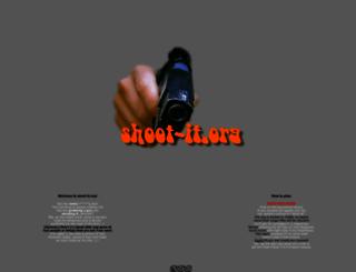 shoot-it.org screenshot