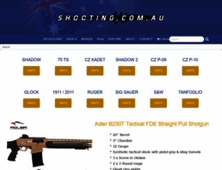shooting.com.au screenshot