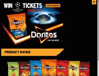 shootout.doritos.co.uk screenshot