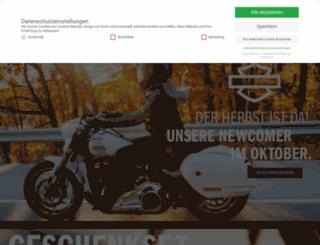 shop-harley-dresden.com screenshot