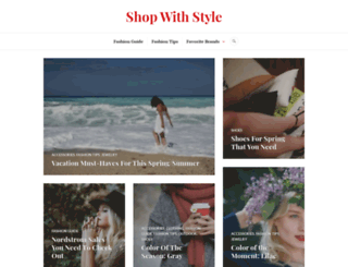 shop-with-style.com screenshot