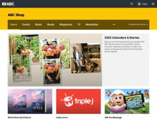shop.abc.net.au screenshot