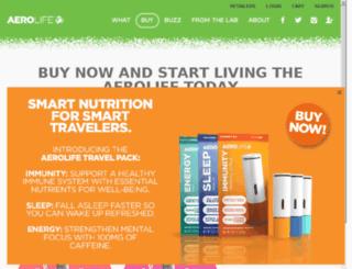 shop.aerolife.com screenshot