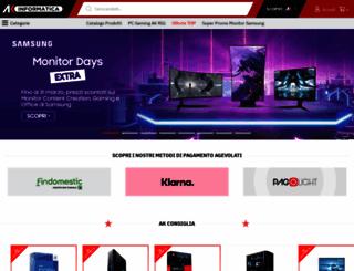 shop.akinformatica.it screenshot