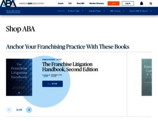 shop.americanbar.org screenshot