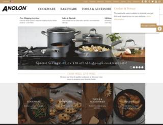 shop.anolon.com screenshot
