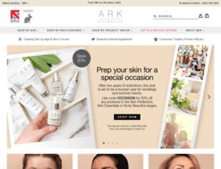 shop.arkskincare.com screenshot