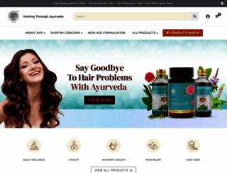 shop.avpayurveda.com screenshot