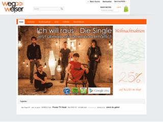 shop.bandwegweiser.de screenshot