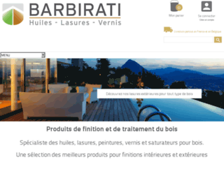 shop.barbirati.com screenshot