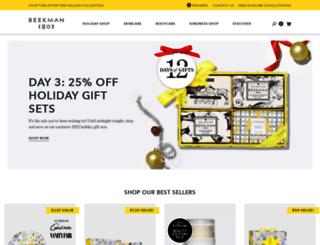 shop.beekman1802.com screenshot