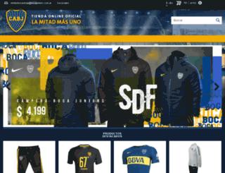 shop.bocajuniors.com.ar screenshot