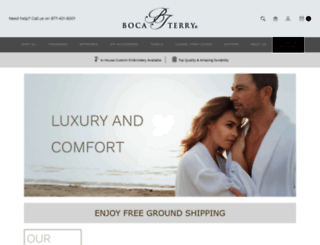 shop.bocaterry.com screenshot