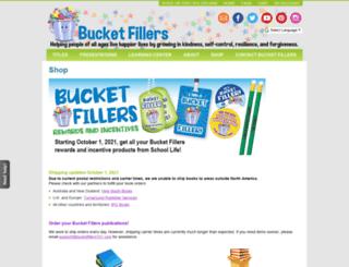shop.bucketfillers101.com screenshot