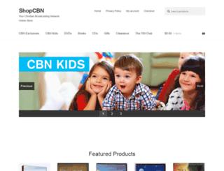 shop.cbn.com screenshot
