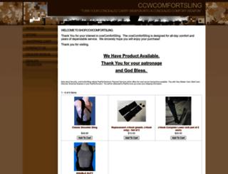 shop.ccwcomfortsling.com screenshot