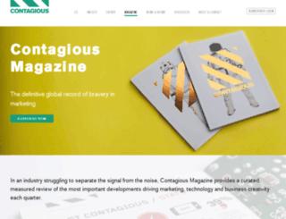 shop.contagiousmagazine.com screenshot