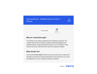 shop.corsair.com screenshot