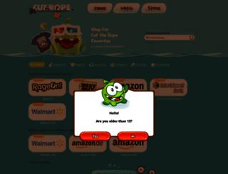 shop.cuttherope.net screenshot