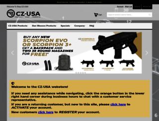 shop.cz-usa.com screenshot
