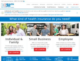 shop.dchealthlink.com screenshot