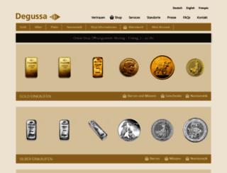 shop.degussa-goldhandel.ch screenshot
