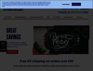 shop.diabetes.org.uk screenshot