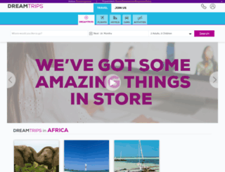 shop.dreamtrips.com screenshot