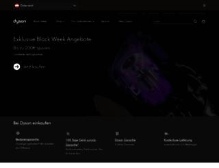 shop.dyson.at screenshot