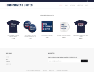 shop.endcitizensunited.org screenshot
