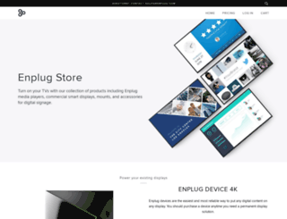 shop.enplug.com screenshot