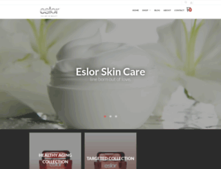 shop.eslor.com screenshot