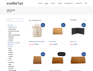 shop.essent-ial.com screenshot