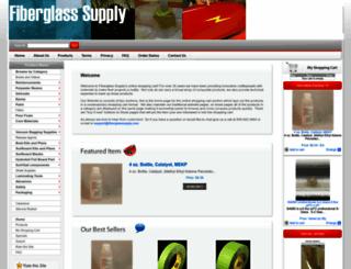 shop.fiberglasssupply.com screenshot