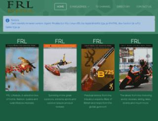 shop.fieldandrurallife.com screenshot