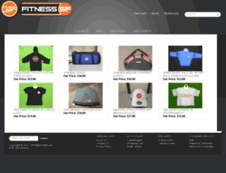 shop.fitnesssf.com screenshot